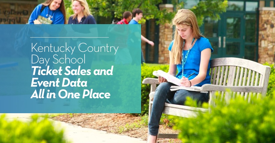Kentucky Country Day School: Ticket Sales and Event Data All in One Place