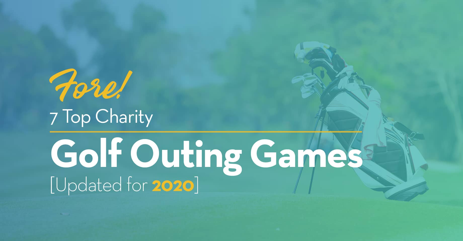Fore! 7 Top Charity Golf Outing Games [Updated for 2020]
