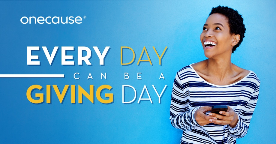 Every day can be a giving day
