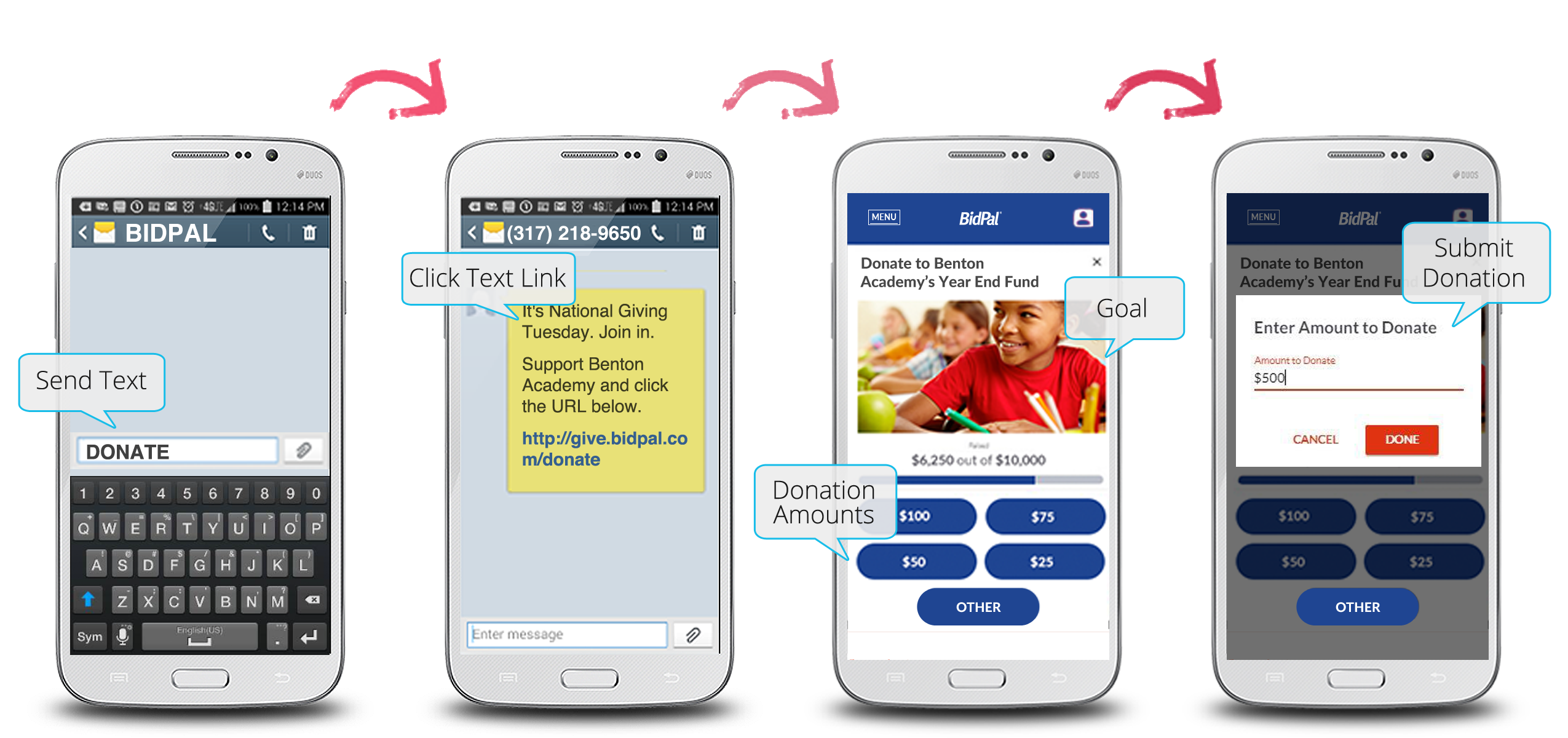 Use Mobile Donations on GivingTuesday