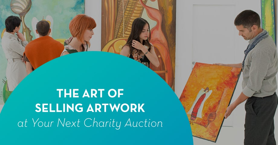 Selling artwork at your charity auction: the expert guide