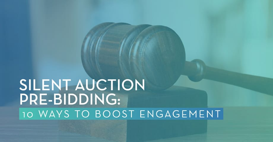 Silent Auction Per-Bidding: 10 ways to boost engagement