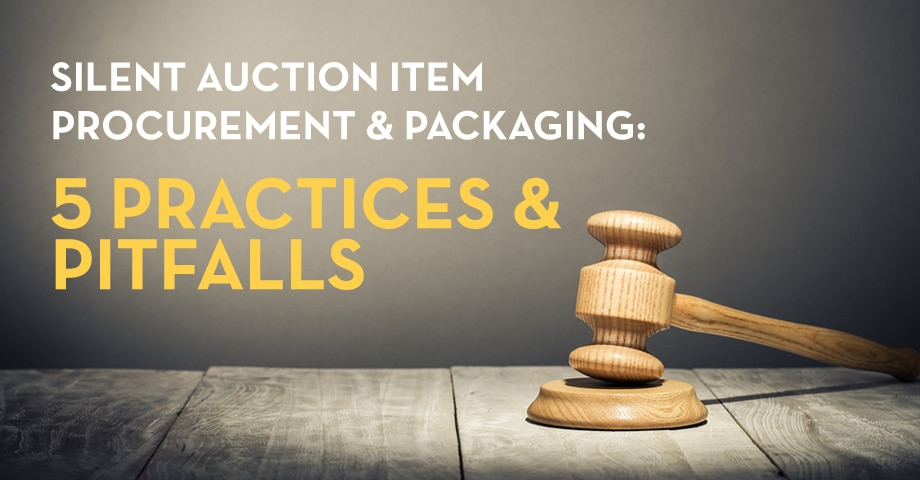 Silent Auction Packaging & Procurement: 5 Tips [updated]