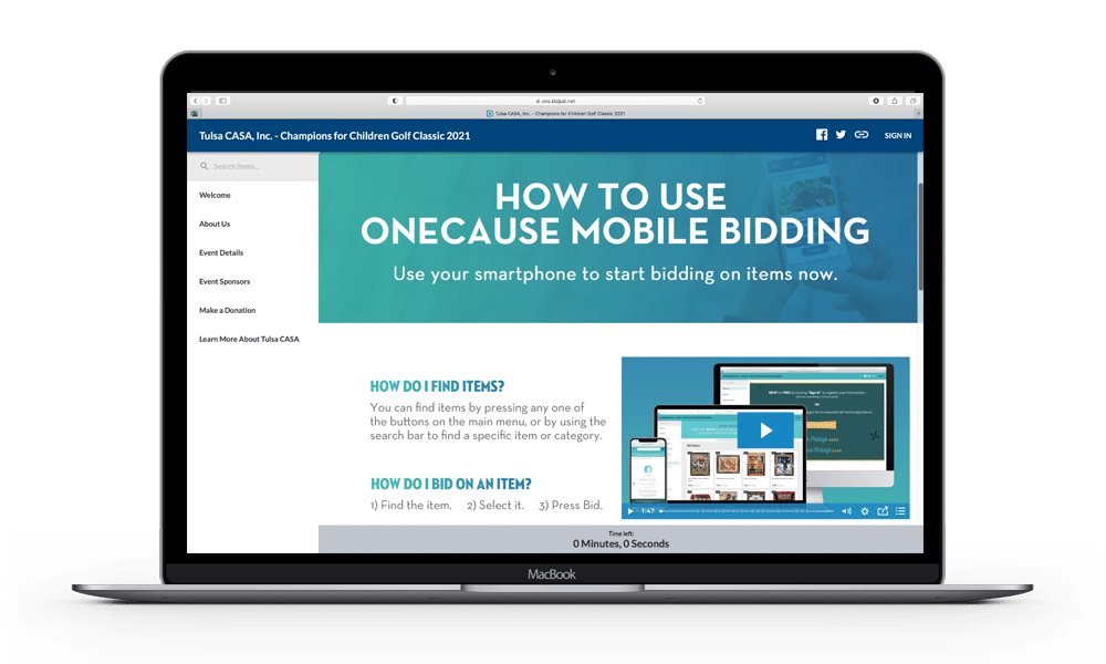 How to Use Mobile Bidding