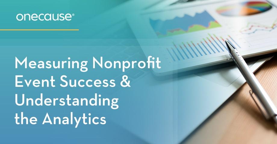 Measuring Nonprofit Event Success & Understanding the Analytics
