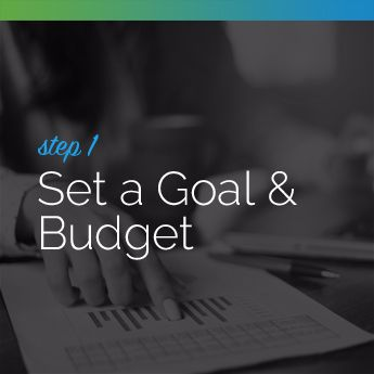 Step 1 to Planning an In-Person Charity Auction: Set a Goal and Budget