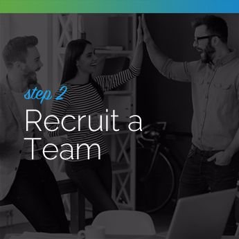Step 2 to Planning an In-Person Charity Auction: Recruit a Team
