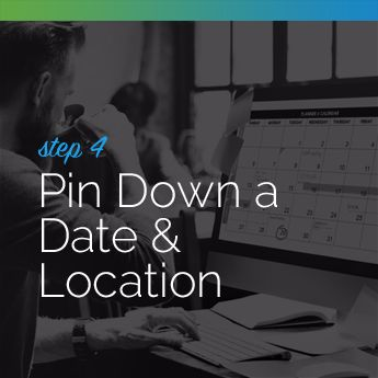 Step 4 to Planning an In-Person Charity Auction: Pin Down a Date and Location