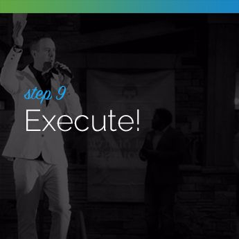 Step 9 to Planning an In-Person Charity Auction: Execute your Auction!