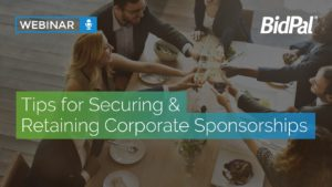 retaining corporate sponsorships