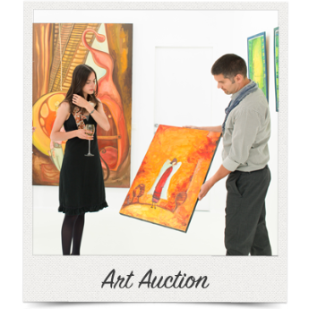 Host your silent auction in conjunction with your art auction.