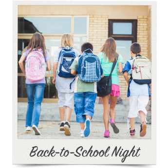 Have a silent auction at your next back-to-school night.