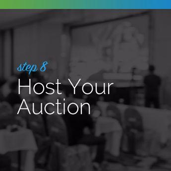 Host your silent auction event.