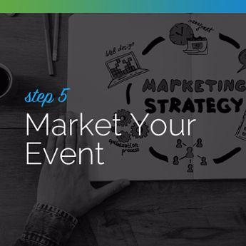 Market your silent auction event.