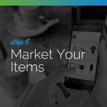 Market your silent auction items.