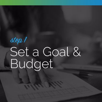 Set a goal and budget for your silent auction.
