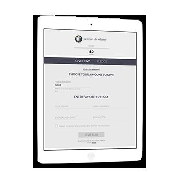Benton Academy Online Giving Form