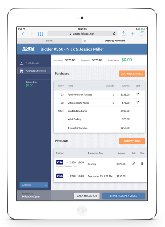 Smartpay Anywhere Fundraising Payments Checkout