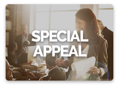 OneCause Giving Centers are great for special appeal online giving campaigns