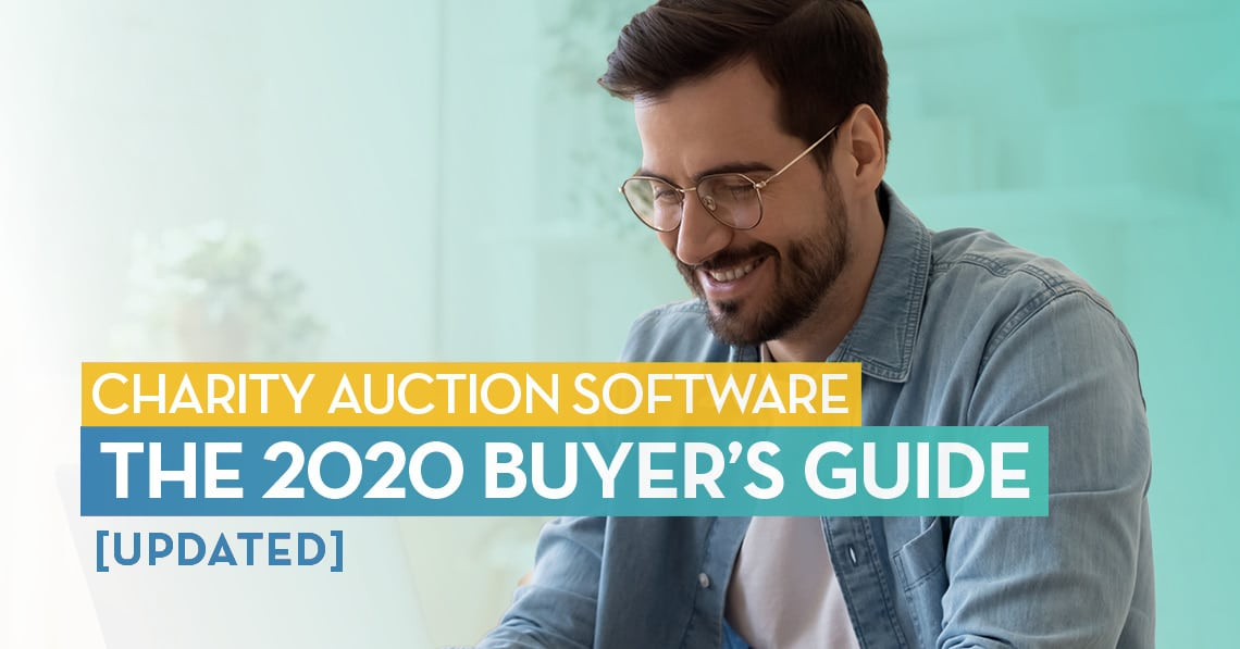 Charity Auction Software: The 2020 Buyer's Guide [Updated]