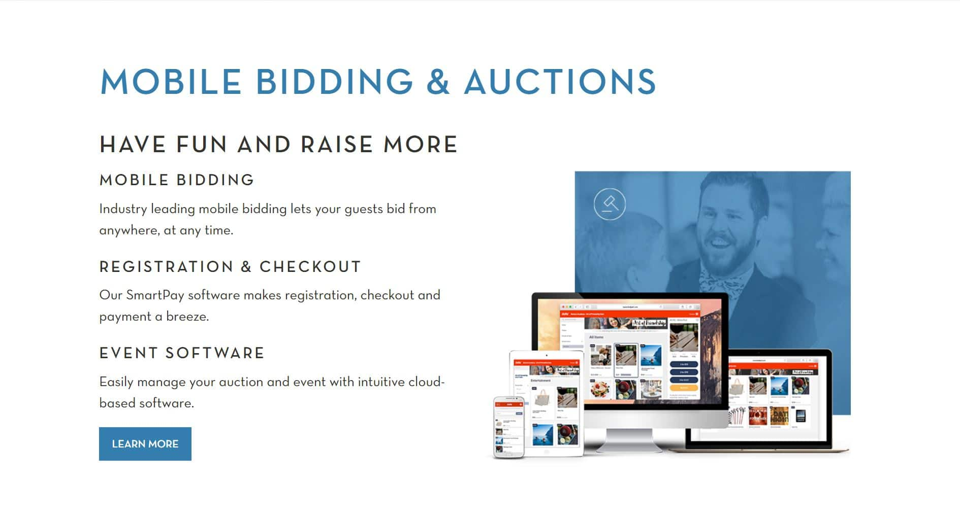 Learn more about hosting a school auction with OneCause's software.