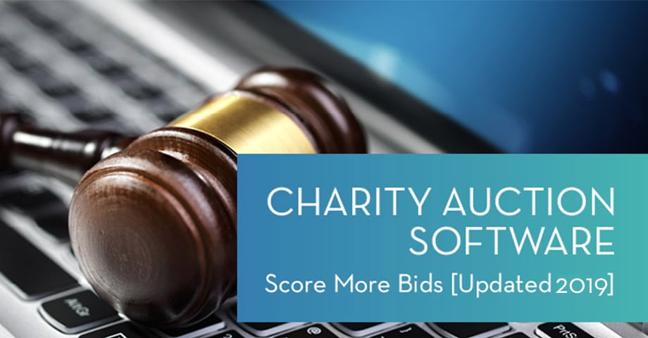 Charity Auction Software Score More Bids [Updated 2019]