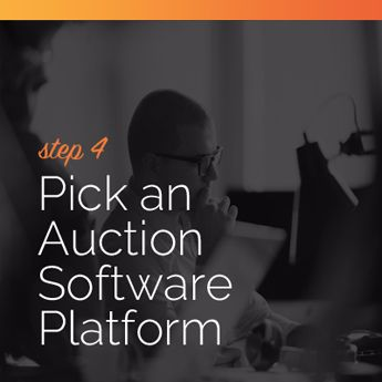 Pick an online charity auction software platform.