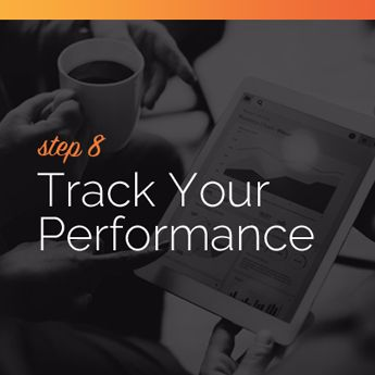 Track your online charity auction's performance.