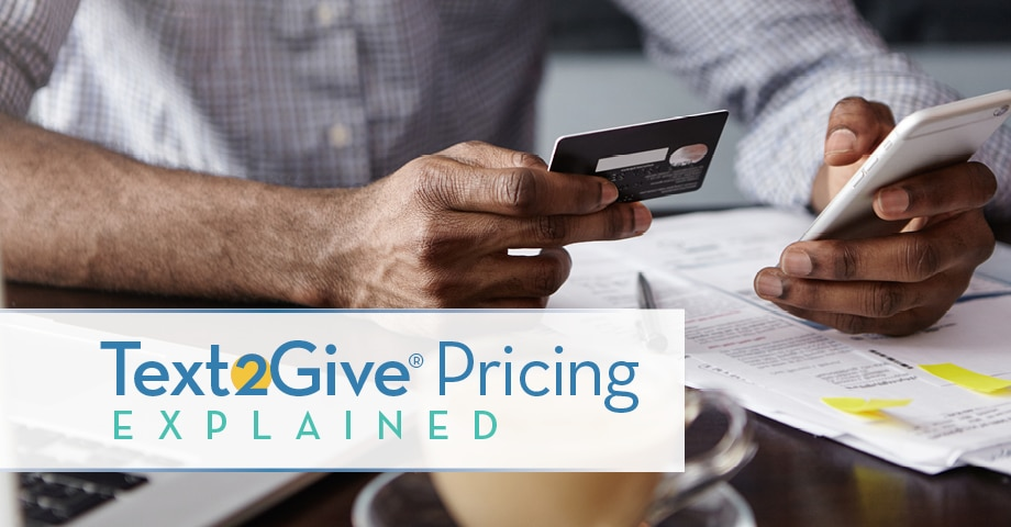 Text2Give Pricing Explained