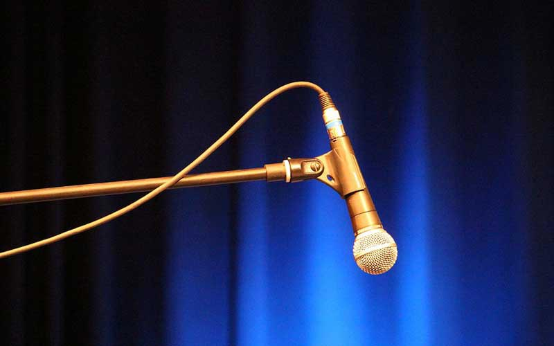 Host a talent show as your next fundraising event idea.