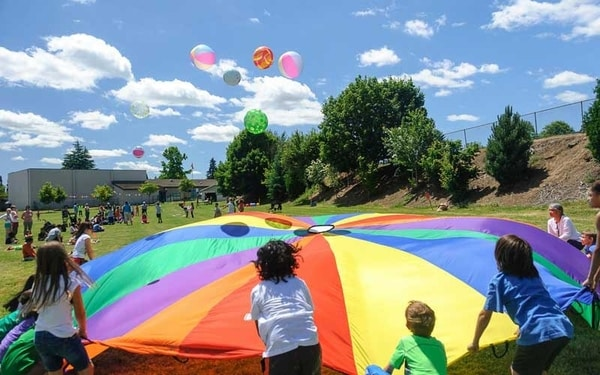 Hosting a field day is great fundraising event idea for schools and churches.