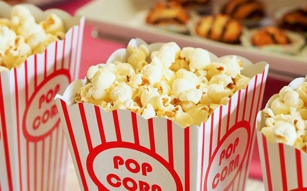Movie nights are great fundraising event ideas, particularly for families with children.