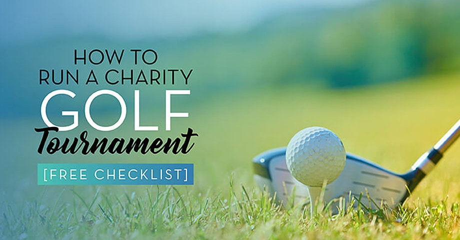 How to Run a charity Golf Tournament [Free Checklist]