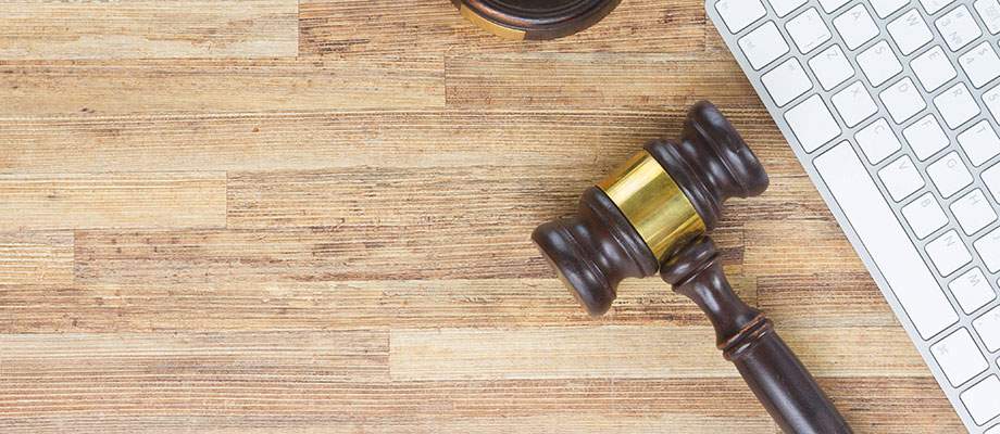 Online Charity Auctions gavel