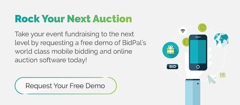 Rock your next auction! Take your event fundraising to the next level by requesting a free demo of our world class mobile bidding and online auction software.  Click for a demo!