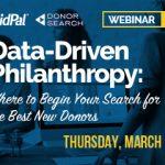 data driven philanthropy
