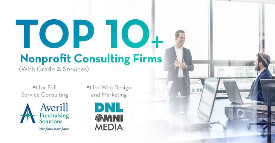 Check out these top nonprofit consulting firms for a wide array of needs.