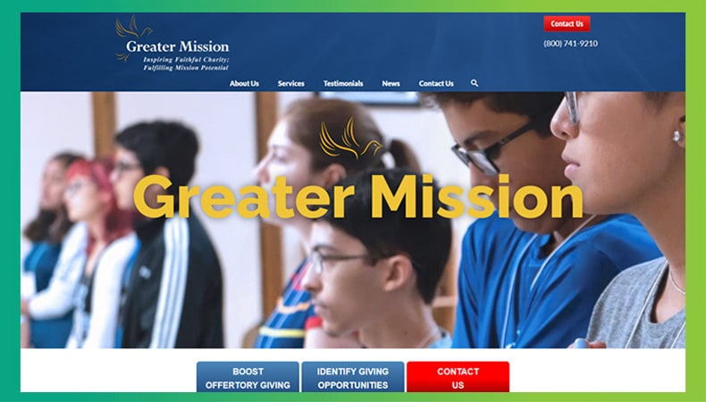 Check out Greater Mission's website to learn more about their expert nonprofit consulting services.