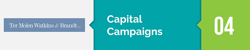 Ter Molen is our top fundraising consulting firm for capital campaigns.