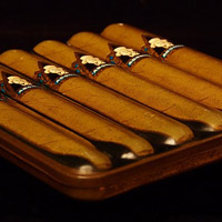 Cuban cigars are a unique item to auction off.