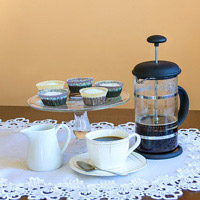A high end coffee maker is perfect for your coffee loving attendees.