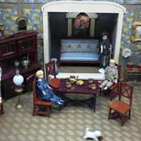 One lucky child would love to win a dollhouse so be sure to offer one at your next auction.