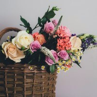 Auction off a year of flowers at your next event.
