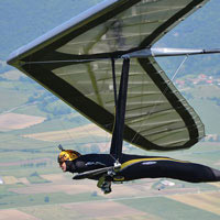 Auction off a hang gliding experience at your next consignment auction.