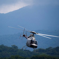 A helicopter tour is a great item to auction off!