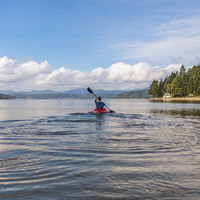 A kayaking excursion is the perfect getaway to offer your attendees.
