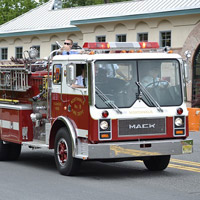 Auction off the chance to ride in a firetruck to school at your next school auction.