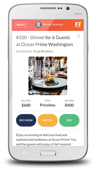 Check out OneCause's mobile bidding software and see how you can make your donors' bidding process even easier by avoiding silent auction bid sheets.