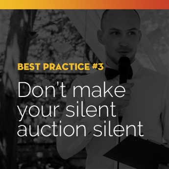 Actively engage your guests for the duration of your school auction.