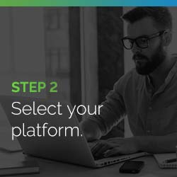 Select your peer-to-peer fundraising platform.